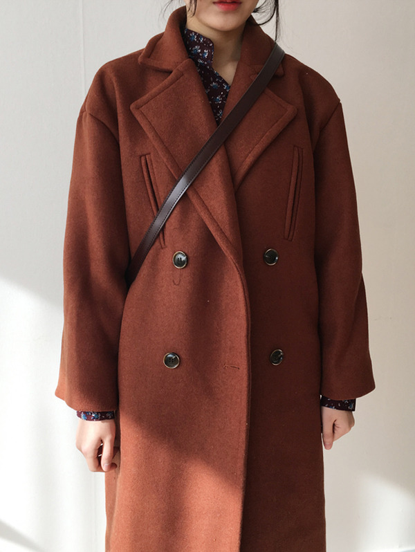 Carrot coat  - wool 70%