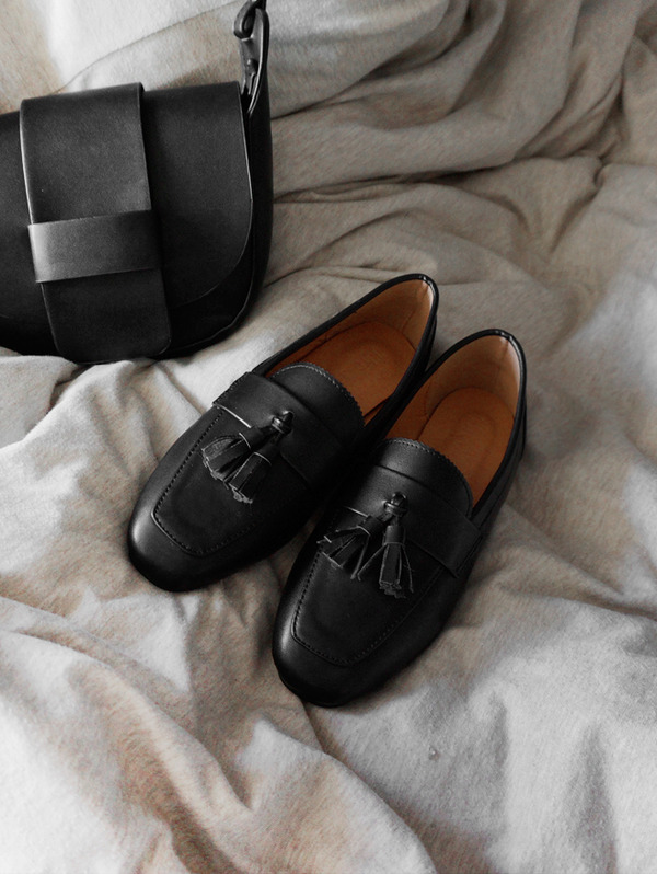 클래식 tassel loafer