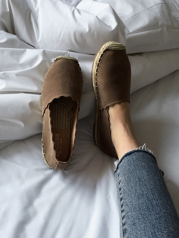 [재입고!] Brown Waving shoes