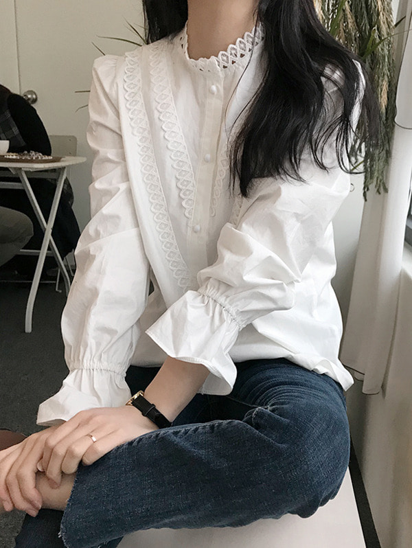 메이비 blouse -  3 color