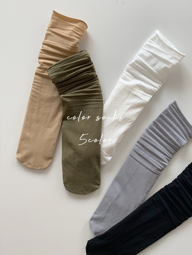 Spring thin socks - 5 color